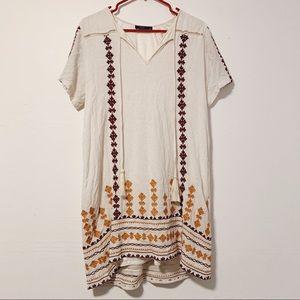 THML Anthro Boho Embroidered Dress Like New